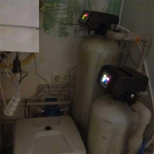Обслуживание механического промывного фильтра колонного типа