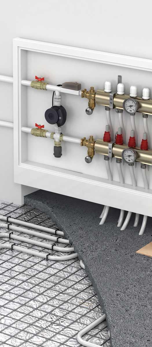 Монтаж и ремонт системы отопления в Днепропетровске