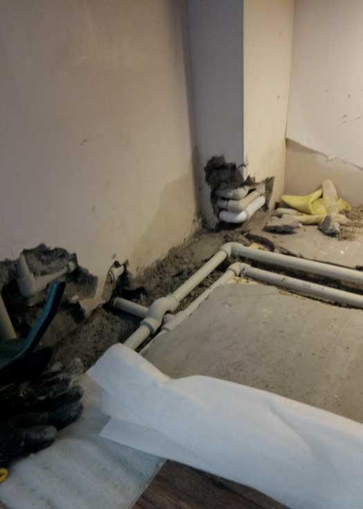 Устранение протечки неправильно смонтированной системы автономного отопления