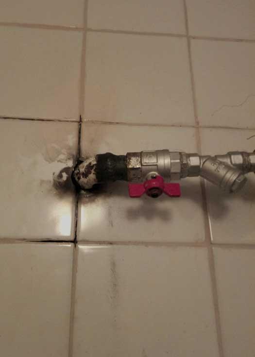 Приварка новых резьб, починка водопровода