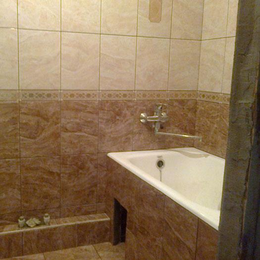 Ремонт ванной и санузла под ключ в Днепре