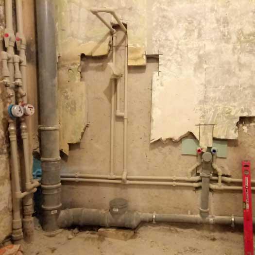Замена труб водоснабжения в Днепре