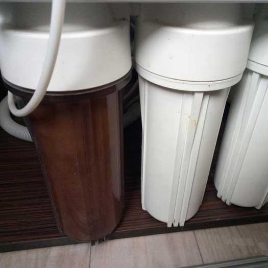 установка мембраны обратного осмоса, замена фильтров обратного осмоса воды
