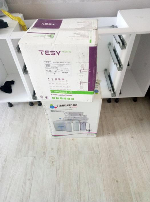 бойлер Tesy на 15 литров