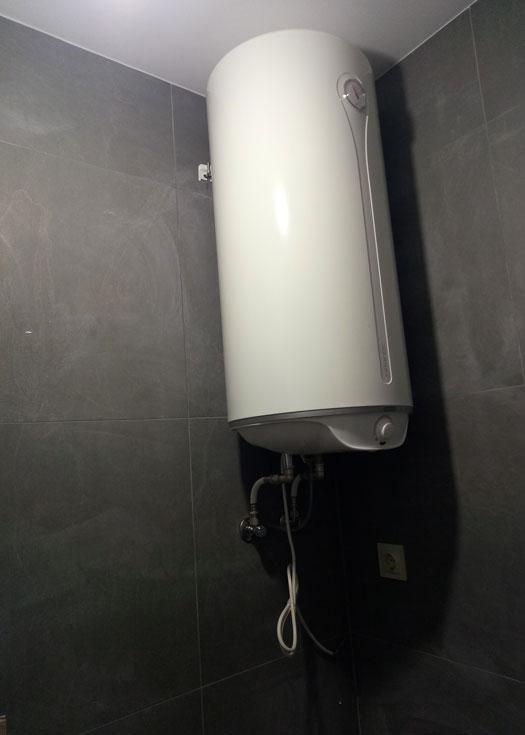 Установка сантехника в новострое по дизайнерскому проекту в Днепре