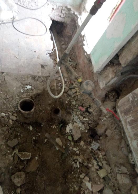 Замена стояка воды и канализации в Екатерининке г Днепр